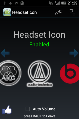 Headset Icon App [Android] - iFart